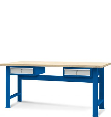 Stół warsztatowy 2100mm, 2 szafki H13