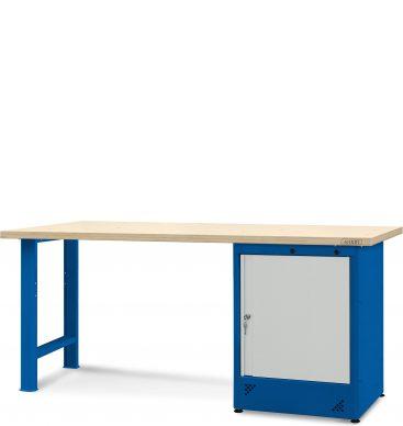 Stół warsztatowy 2100mm, 1 szafka H11