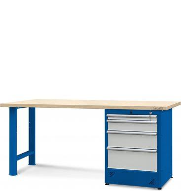 Stół warsztatowy 2100mm,  1 szafka H12