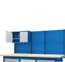Nadbudowa do stołów 2100, wysoka z szafką