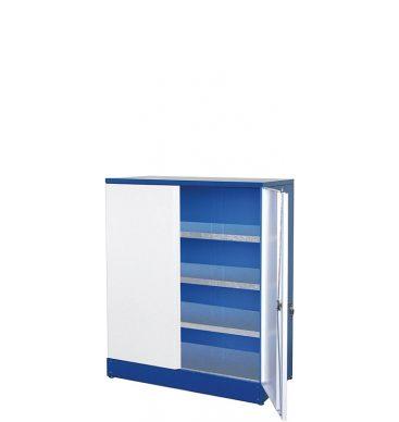 Szafa warsztatowa 1100h x 910 x 450mm, z półkami ocynkowanymi