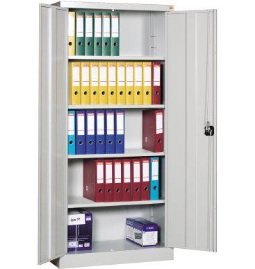 Szafa biurowa metalowa Standard 1920h x900 x420mm, drzwi uchylne