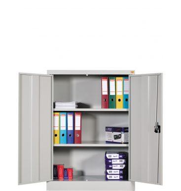 Szafka biurowa metalowa Standard 1220h x900 x420mm, drzwi uchylne