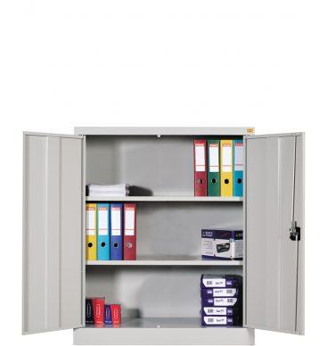 Szafka biurowa metalowa Standard 1220h x1000 x420mm, drzwi uchylne