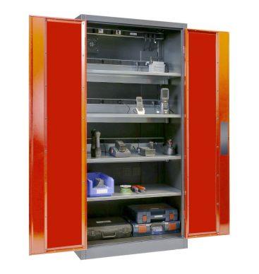 Szafa na elektronarzędzia 1950x930x500mm, Comfort, drzwi pełne