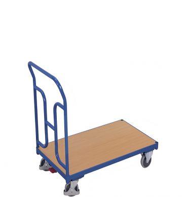 Wózek platformowy 1-burtowy 900 x 500, 250kg, wypełnienie H