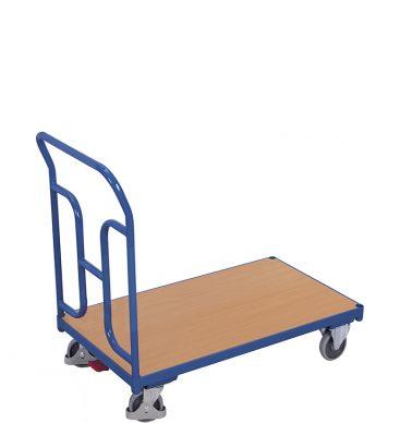 Wózek platformowy 1-burtowy 1000 x 600, 250kg, wypełnienie H