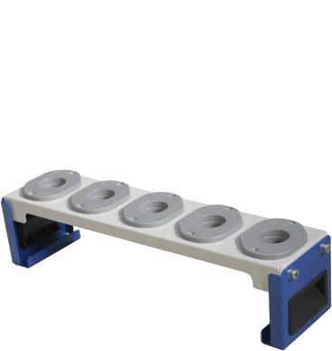 Stojak z gniazdami na oprawy narzędziowe ISO40
