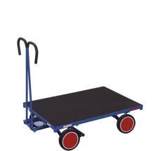 Wózek platformowy z dyszlem 1200x800mm, bez burt