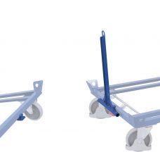 Dyszel i zaczep do wózków pod palety