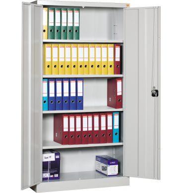 Szafa biurowa metalowa Standard 1920h x1000 x420mm, drzwi uchylne