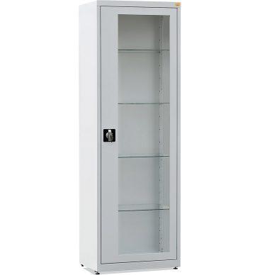 Szafa medyczna 60, z przeszklonymi drzwiami