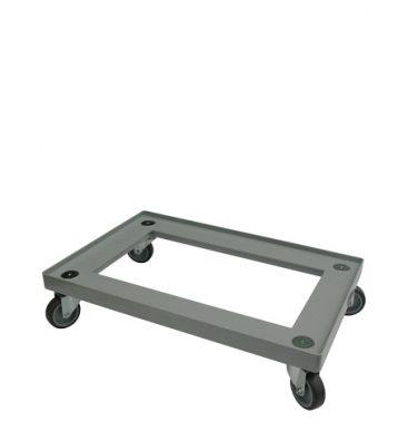 Wózek-podstawka do pojemników 600x400, plastikowy